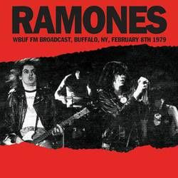 RAMONES, wbuf fm broadcast, buffalo, ny, Feb. 8th 1979 cover