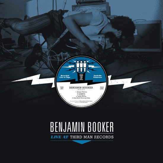 Cover BENJAMIN BOOKER, third man live