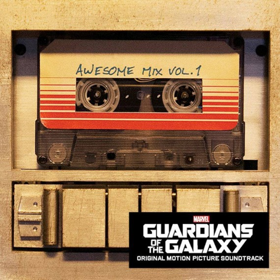 Cover O.S.T., guardians of the galaxy vol. 1: awesome mix vol. 1