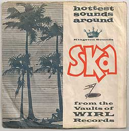 Cover V/A, ska! from the vaults of wirl records