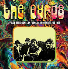 Cover BYRDS, avalon ballroom, san francisco 2.11.1968