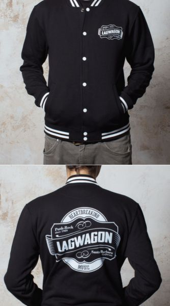 Cover LAGWAGON, emblem (boy) collegejacket