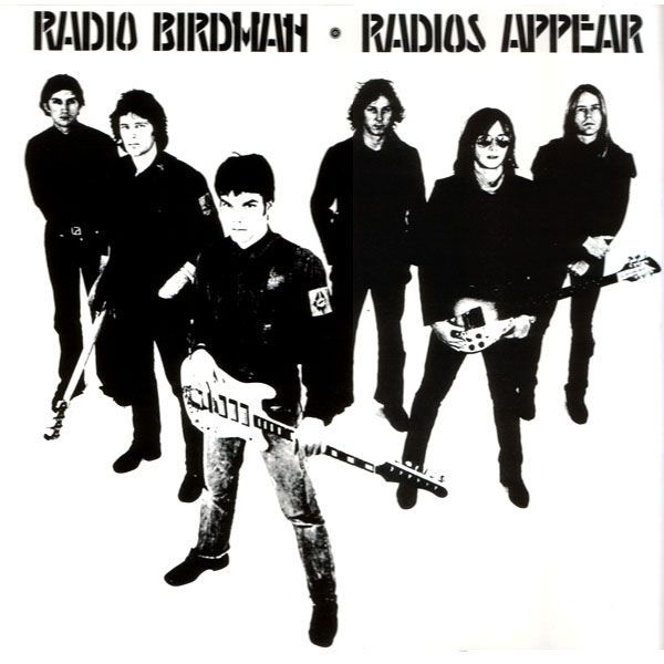 Cover RADIO BIRDMAN, radios appear
