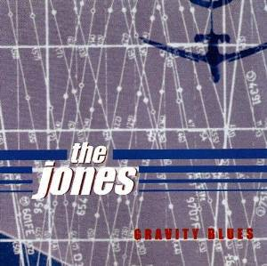 Cover JONES, gravity blues (re-issue)