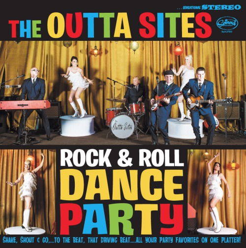 Cover OUTTA SITES, rock´n roll dance party