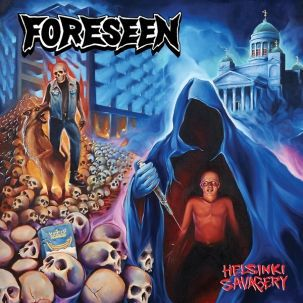 Cover FORESEEN, helsinki savagery