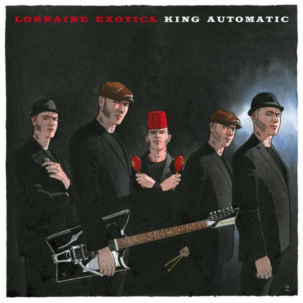 Cover KING AUTOMATIC, lorraine exotica