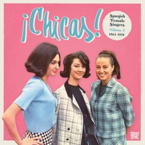 V/A, chicas vol. 2 cover