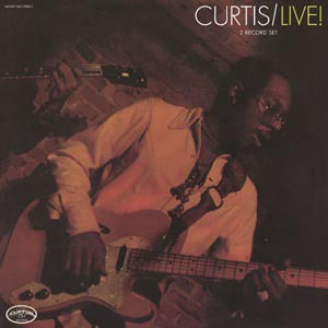 Cover CURTIS MAYFIELD, curtis/live (expanded)