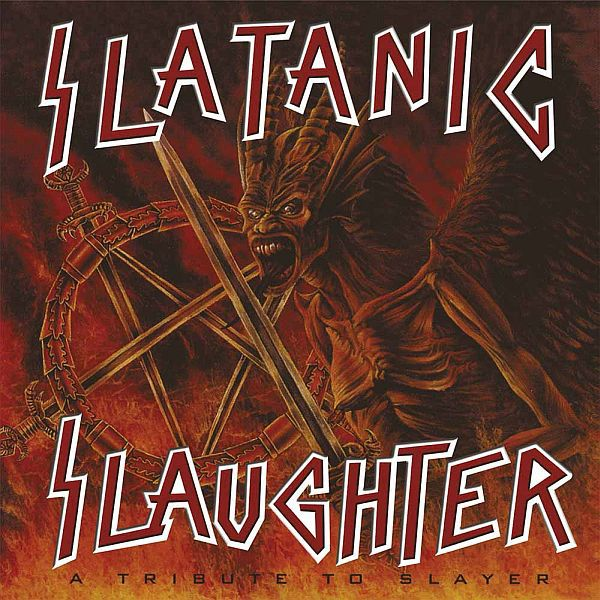 Cover V/A, slatanic slaughter - a tribute to slayer