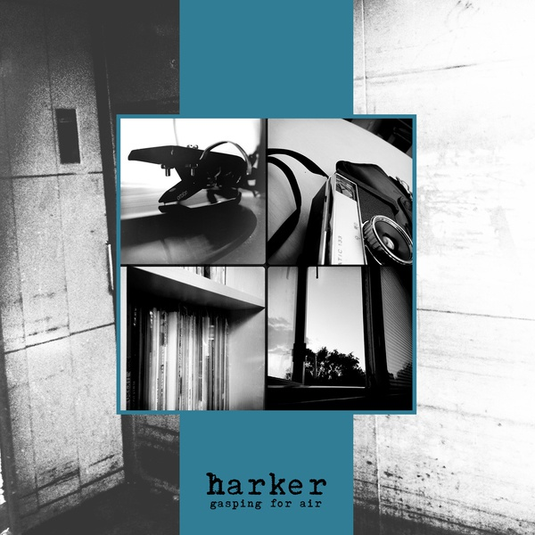 Cover HARKER, gasping for air