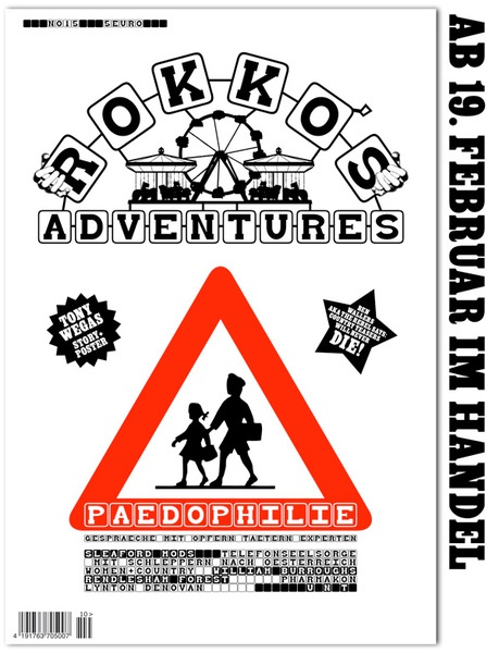 Cover ROKKO´S ADVENTURES, # 15