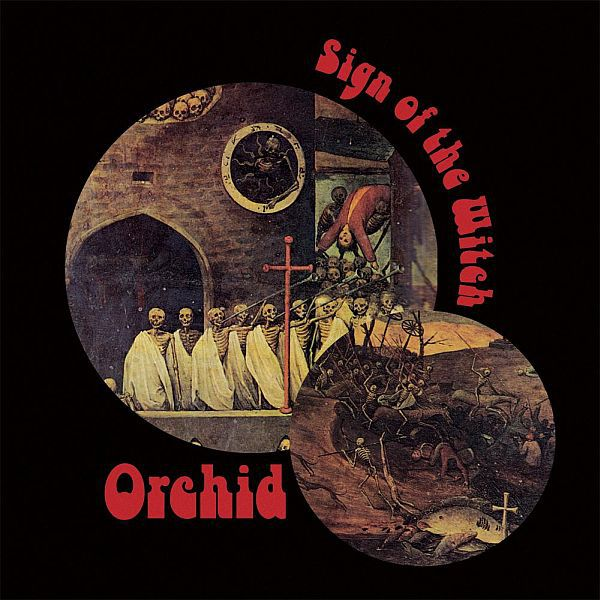 Cover ORCHID, sign of the witch
