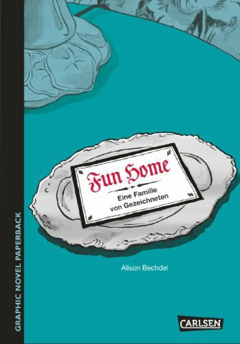 Cover ALISON BECHDEL, fun home
