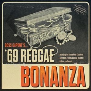 BOSS CAPONE, 69 reggae bonanza cover
