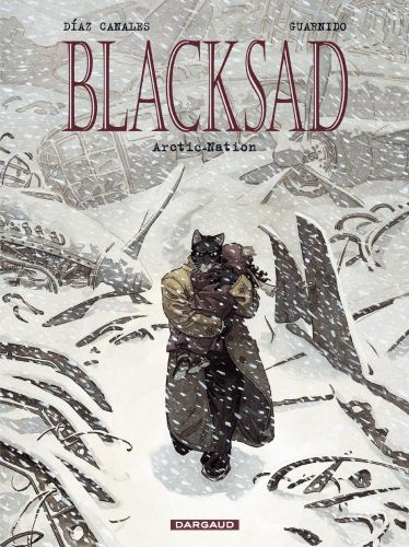 Cover JUAN DIAZ CANALES/JUANJO GUARNIDO, blacksad 02 arctic nation