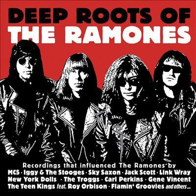 Cover V/A, deep roots of the ramones