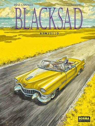 JUAN DIAZ CANALES/JUANJO GUARNIDO, blacksad 05 amarillo cover