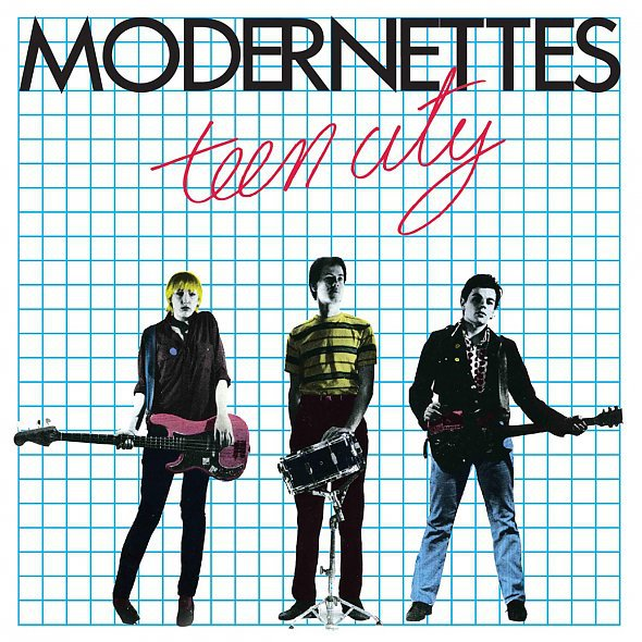 MODERNETTES, teen city cover