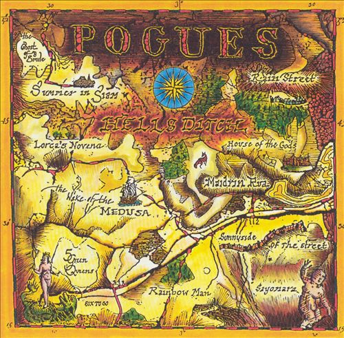Cover POGUES, hells ditch