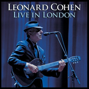 Cover LEONARD COHEN, live in london