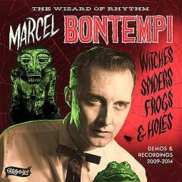 Cover MARCEL BONTEMPI, witches, spiders, frogs & holes