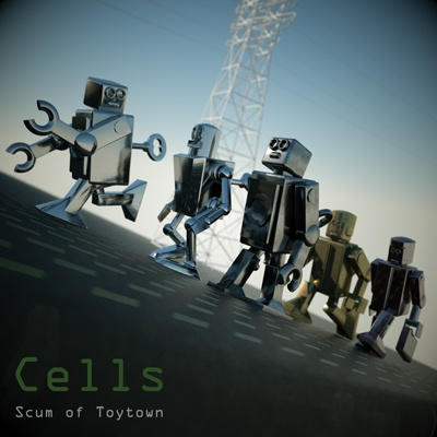 Cover SCUM OF TOYTOWN, cells