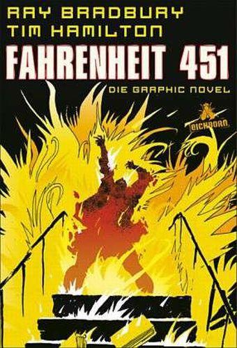 RAY BRADBURY/TIM HAMILTON, fahrenheit 451 cover