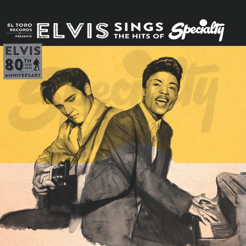 Cover ELVIS, elvis sings the hits of speciality