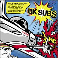 UK SUBS, yellow leader cover