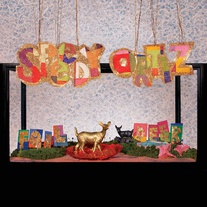 Cover SPEEDY ORTIZ, foil deer