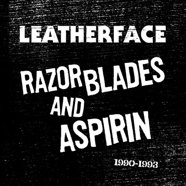 Cover LEATHERFACE, razorblades and aspirin