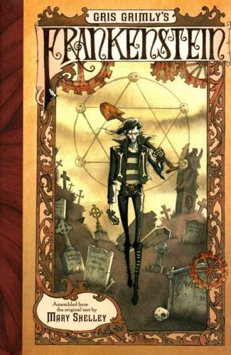 GRIS GRIMLY/MARY SHELLEY, gris grimly´s frankenstein cover