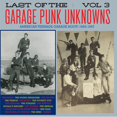Cover V/A, garage punk unknowns vol. 3