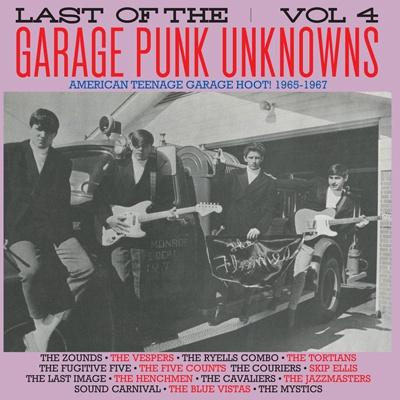 Cover V/A, garage punk unknowns vol. 4
