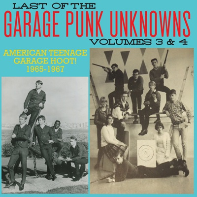 Cover V/A, garage punk unknowns vol. 3 + 4