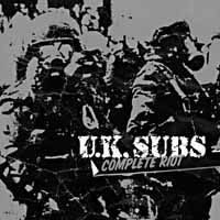 UK SUBS, complete riot cover