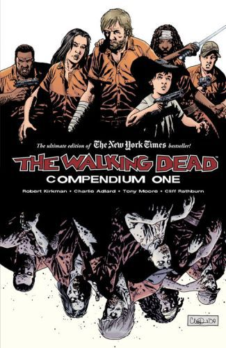 Cover ROBERT KIRKMAN, the walking dead kompendium 01