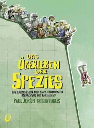 PAUL JORION/GRÉGORY MAKLÈS, das überleben der spezies cover