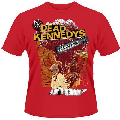 DEAD KENNEDYS, kill the poor (boy) red cover