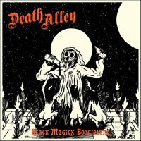 DEATH ALLEY, black magick boogieland cover