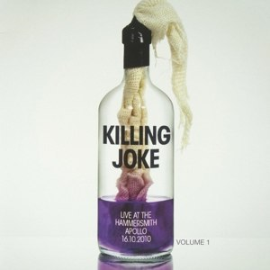 Cover KILLING JOKE, live at hammersmith vol. 1