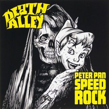 Cover PETER PAN SPEEDROCK / DEATH ALLEY, split