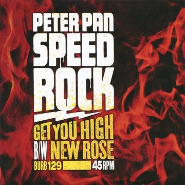 Cover PETER PAN SPEEDROCK, get you high