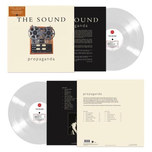 THE SOUND, propaganda cover