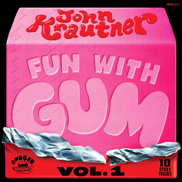 Cover JOHN KRAUTNER, fun with gum vol. 1