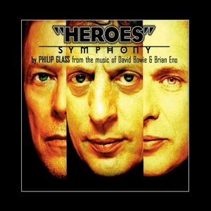 Cover PHILIP GLASS, heroes symphony