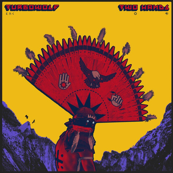 Cover TURBOWOLF, two hands