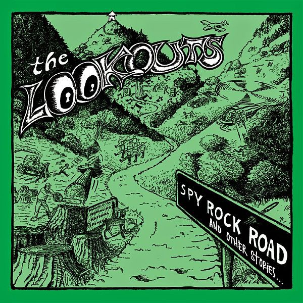 LOOKOUTS, spy rock road (and other stories) cover