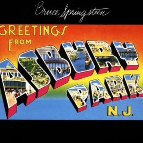BRUCE SPRINGSTEEN, greetings from asbury park, n.j. cover